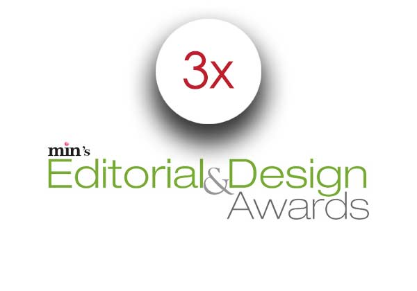 3 Min's Editorial & Design Awards